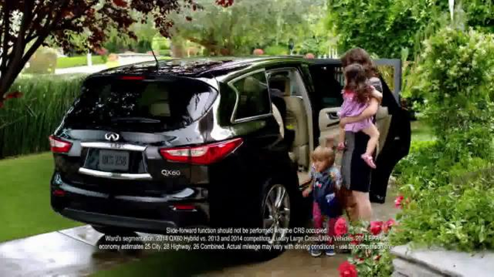 2014 Infiniti QX60 Hybrid TV Commercial, 'Designed with Children in Mind'