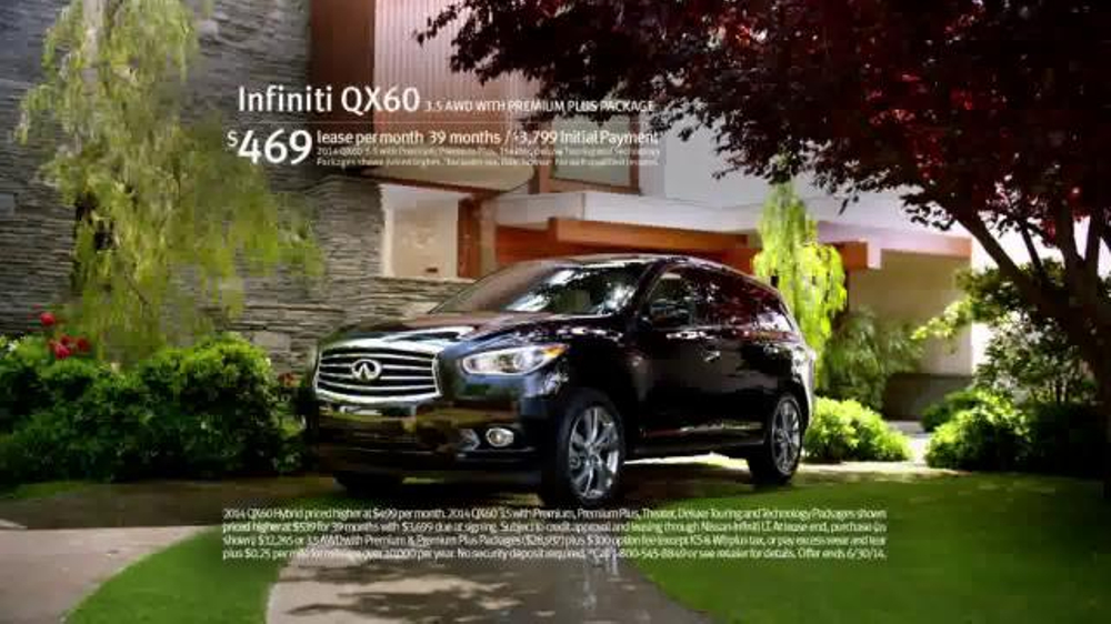 2014 Infiniti QX60 Hybrid TV Commercial, 'Designed with