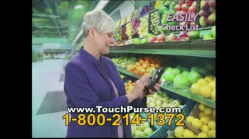 Touch Purse TV Spot thumbnail