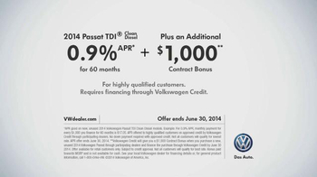 Volkswagen TDI TV Spot, 'The Clean Diesel Family' - Thumbnail 10