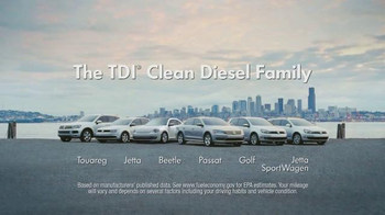 Volkswagen TDI TV Spot, 'The Clean Diesel Family' - Thumbnail 8