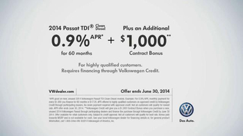 Volkswagen TDI TV Spot, 'The Clean Diesel Family' - Thumbnail 9
