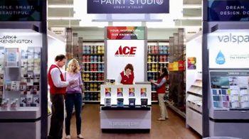 ACE Hardware Paint Studio TV Spot, 'Helpful Is Beautiful-Clark+Kensington' - 703 commercial airings