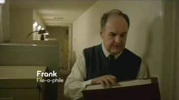 Esurance TV Spot, 'Frank: File-o-phile' - Thumbnail 2