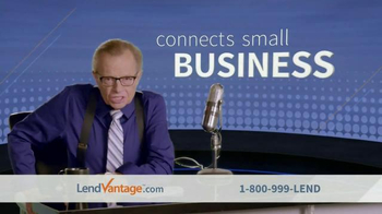 LendVantage TV Spot Featuring Larry King - Thumbnail 1