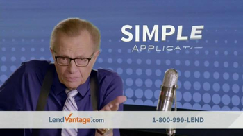 LendVantage TV Spot Featuring Larry King - Thumbnail 2