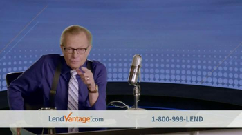 LendVantage TV Spot Featuring Larry King - Thumbnail 3