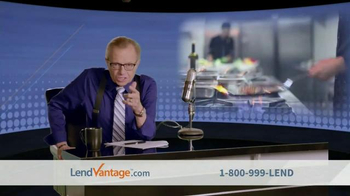 LendVantage TV Spot Featuring Larry King - Thumbnail 5