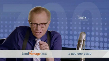 LendVantage TV Spot Featuring Larry King - Thumbnail 6