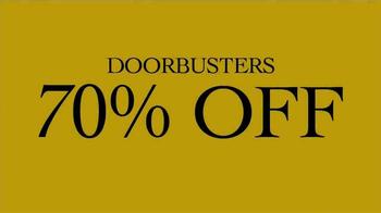JoS. A. Bank TV Spot, 'DoorBuster' - Thumbnail 1