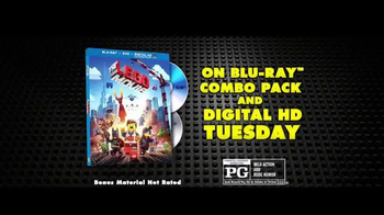The LEGO Movie Blu-ray Combo Pack TV Spot - Thumbnail 9