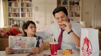 Wendy's Steakhouse Jr. Cheeseburger Deluxe TV Spot, 'Celebrar' [Spanish] - Thumbnail 10