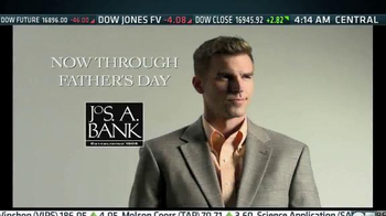 JoS. A. Bank Father's Day Sale TV Spot, 'Buy One Get 2 Free' - Thumbnail 1