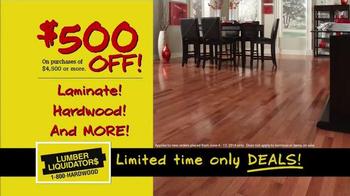 Lumber Liquidators TV Spot, 'Buy More, Save More' - Thumbnail 3