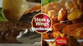 Golden Corral TV Spot, 'Father's Day Steak & Wing Spectacular'