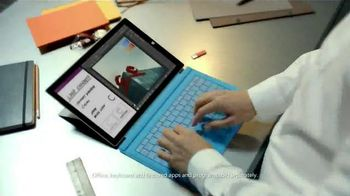 Microsoft Surface Pro 3 TV Spot, \'The Tablet That Can Replace Your Laptop\'