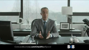 Comcast Business TV Spot, \'Ten Second Test\'