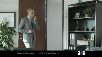 Comcast Business TV Spot, 'Ten Second Test' - Thumbnail 4