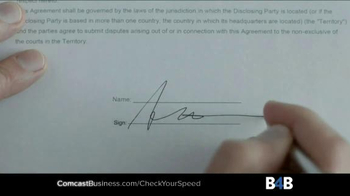Comcast Business TV Spot, 'Ten Second Test' - Thumbnail 5