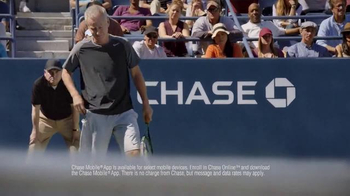 Chase Mobile App TV Spot, 'Oh, Come On!' Feat. John McEnroe, Andy Roddick - Thumbnail 3