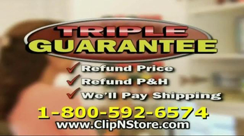Clip N Store TV Spot - Thumbnail 8