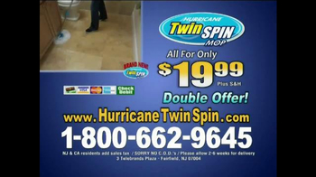 Hurricane Twin Spin Mop TV Spot - Thumbnail 10
