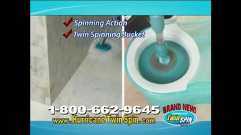 Hurricane Twin Spin Mop TV Spot - Thumbnail 7
