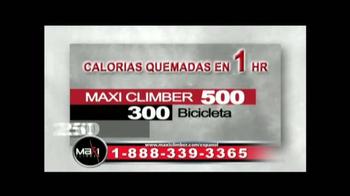 MaxiClimber TV Spot [Spanish] - Thumbnail 4