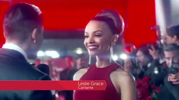 Colgate Optic White Platinum TV Spot Con Leslie Grace [Spanish]