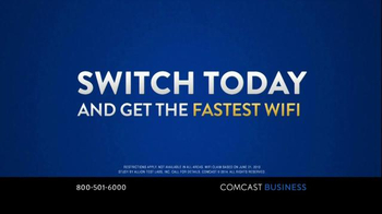 Comcast Business TV Spot, 'Always Choose the Fastest' - Thumbnail 7