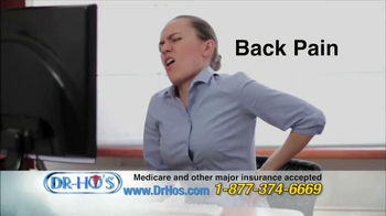 DR-HO's Back Relief Belt TV Spot, 'Back Pain Relief' - Thumbnail 1