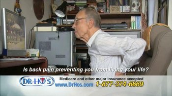 DR-HO's Back Relief Belt TV Spot, 'Back Pain Relief' - Thumbnail 2