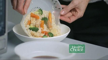 Healthy Choice Cafe Steamers TV Spot, 'The Taste of Steam'