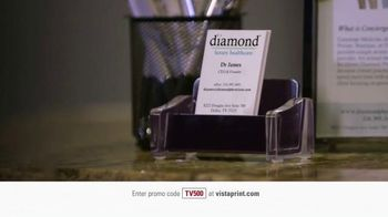 Vistaprint TV Spot, 'Doctor Pinckney'