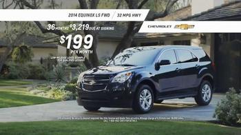 2014 Chevrolet Equinox TV Spot, 'Great Features' - Thumbnail 10
