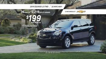 2014 Chevrolet Equinox TV Spot, 'Great Features' - Thumbnail 8