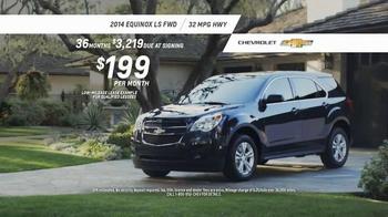 2014 Chevrolet Equinox TV Spot, 'Great Features' - Thumbnail 9