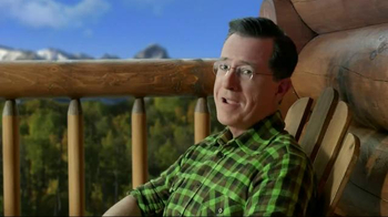 Wonderful Pistachios TV Spot, 'Colorado' Featuring Stephen Colbert, Song by - Thumbnail 6