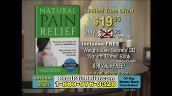 Natural Pain Relief TV Spot - Thumbnail 4