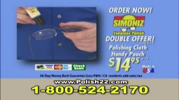 Simoniz Eyeglass Polish TV Spot