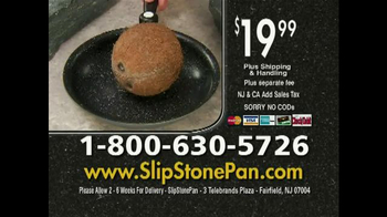 Slip Stone Pan TV Spot - Thumbnail 8