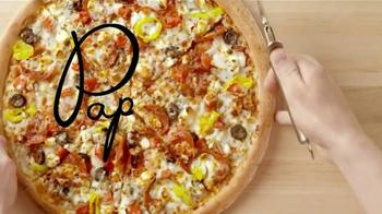 Papa John's Greek Pizza TV Spot, 'Two Countries' - Thumbnail 6
