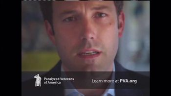 Paralyzed Veterans of America TV Spot, 'Never Leave a Fallen Comrade Behind' Featuring Ben Affleck - 445 commercial airings