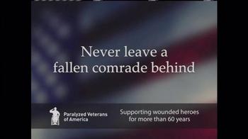 Paralyzed Veterans of America TV Spot, 'Never Leave a Fallen Comrade Behind' Featuring Ben Affleck - Thumbnail 5