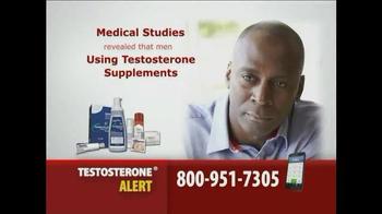 Gold Shield Group TV Spot, 'Testosterone Alert' - Thumbnail 3