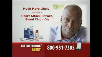 Gold Shield Group TV Spot, 'Testosterone Alert' - Thumbnail 4