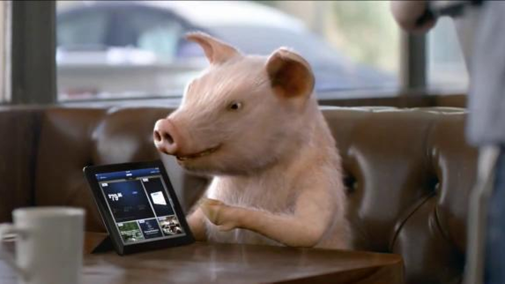 GEICO TV Commercial, 'Pig Latin Maxwell Pig'