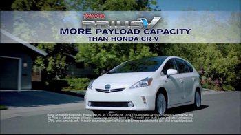 Toyota Prius V TV Spot, 'Did You Know?' - Thumbnail 3