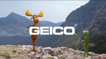 GEICO TV Spot, 'The Gecko's Journey: Rocky Mountains'