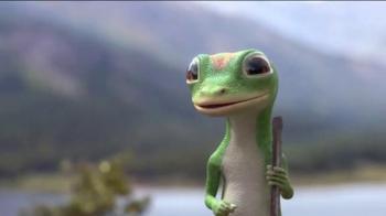 GEICO TV Spot, 'The Gecko's Journey: Rocky Mountains' - Thumbnail 5
